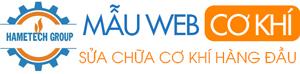 Mẫu website gia công cơ khí – Ninh Bình Web